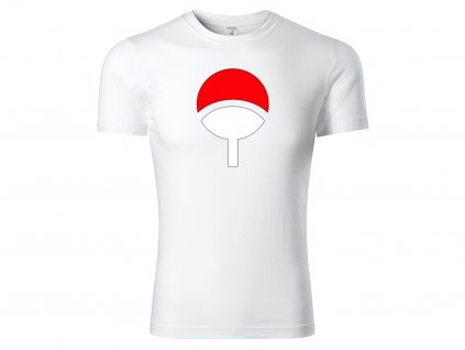 Tričko Uchiha Clan bílé