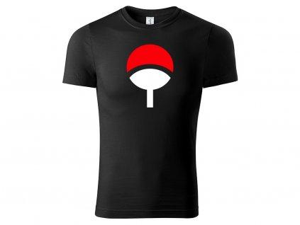 Tričko Uchiha Clan černé