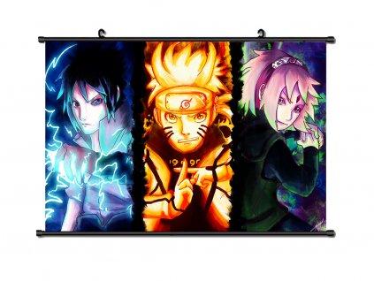 Wallscroll Naruto Trio