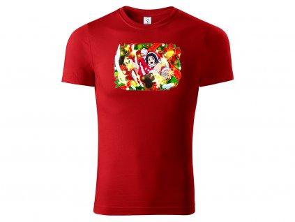 Christmas Sasuke red