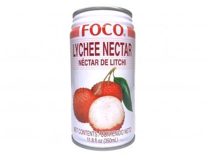 FOCO Nápoj Lychee Nectar - 350 ml