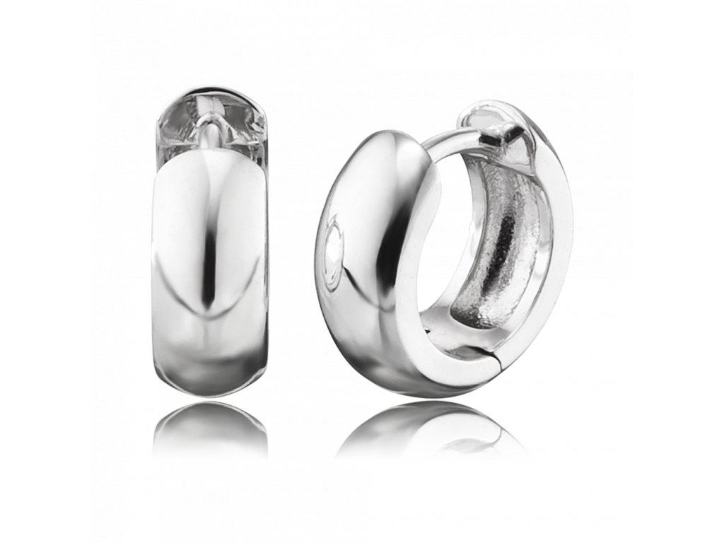62e435fdc Stříbrné kruhy náušnice | Andělské zvonky