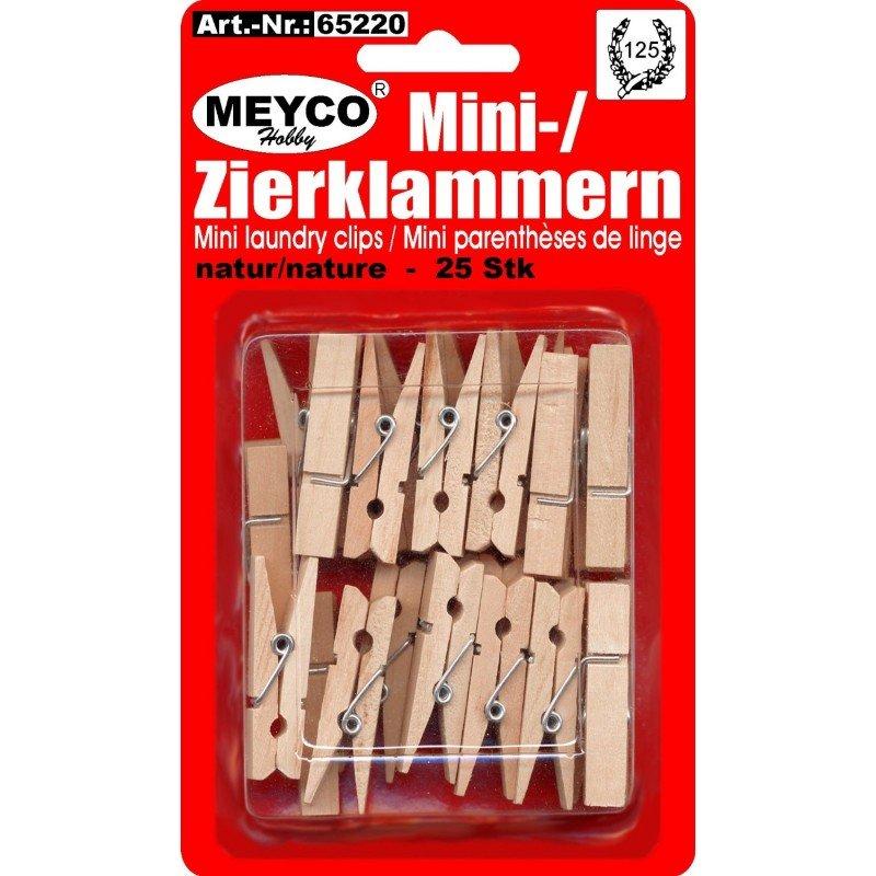 Drevené štipčeky, paličky