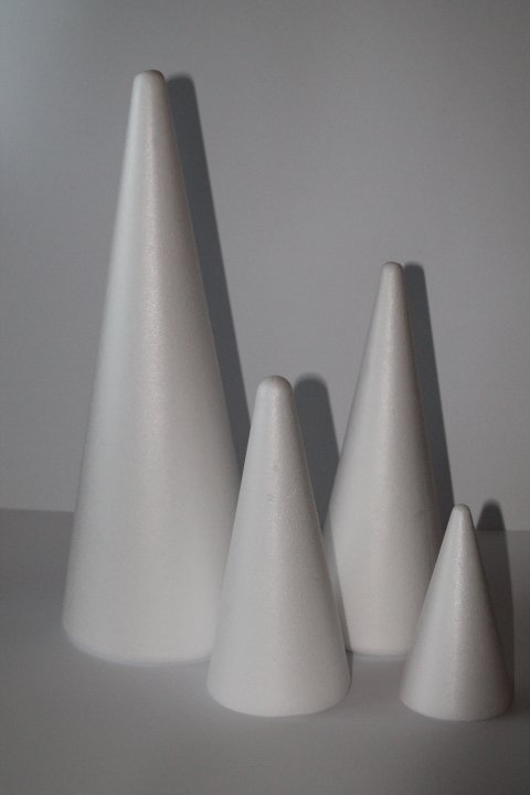 Polystyrénové kužele