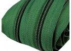 5 mm špirálový zips pre bežce typu POL