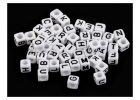 Koráliky písmenká a čísla