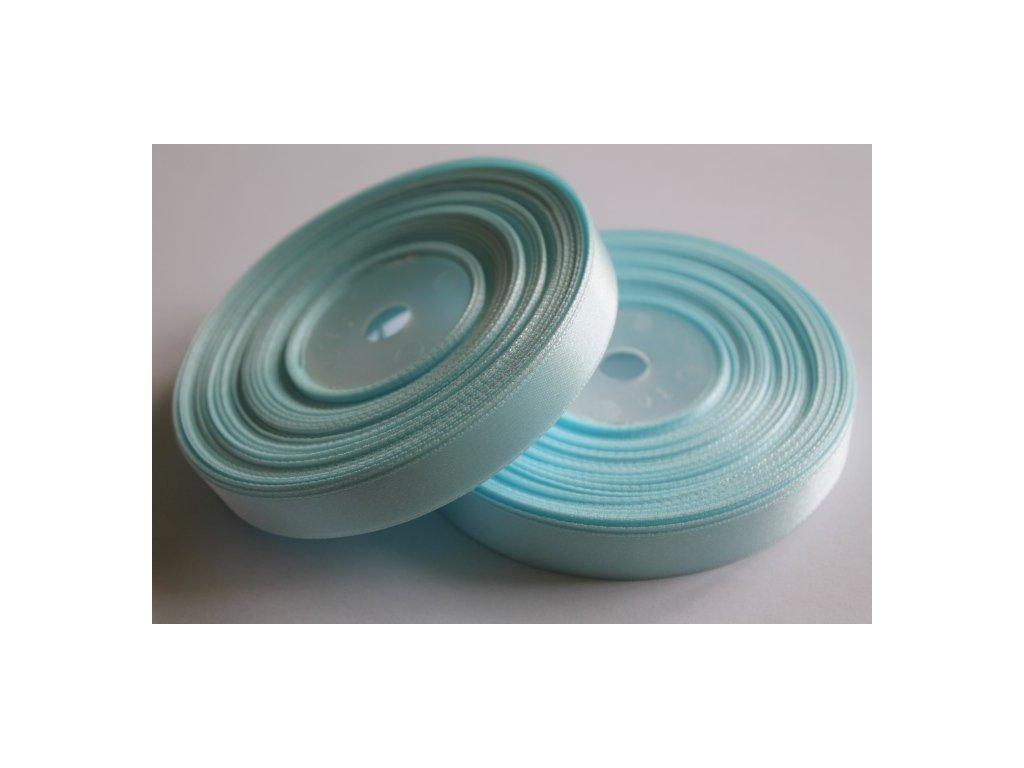 Saténová stuha 12mm A062 pastelová modrá