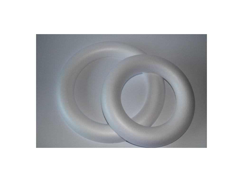 Polystyrénový venček 1/2 25 cm