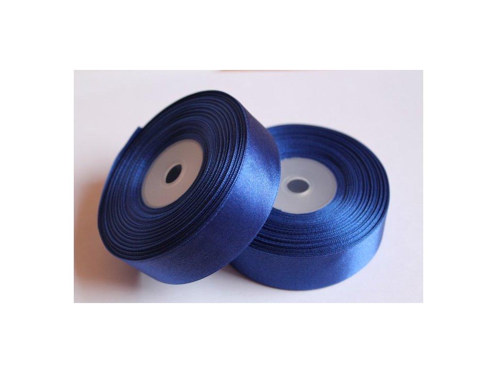 Saténová stuha 25mm A032 kráľovská modrá