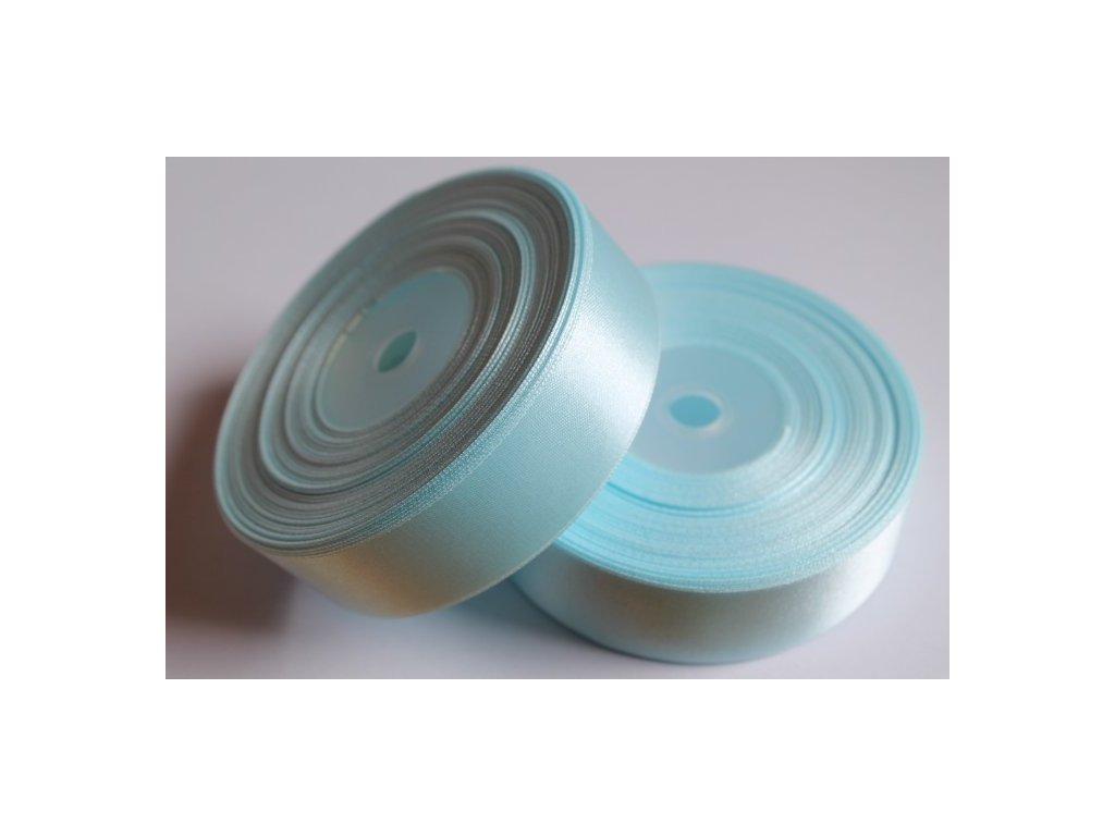 Saténová stuha 25mm A062 pastelová modrá