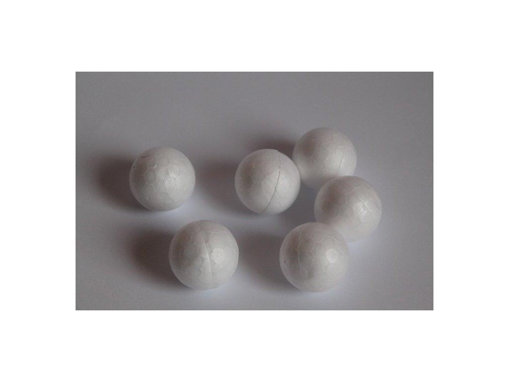 Polystyrénová guľa 3 cm