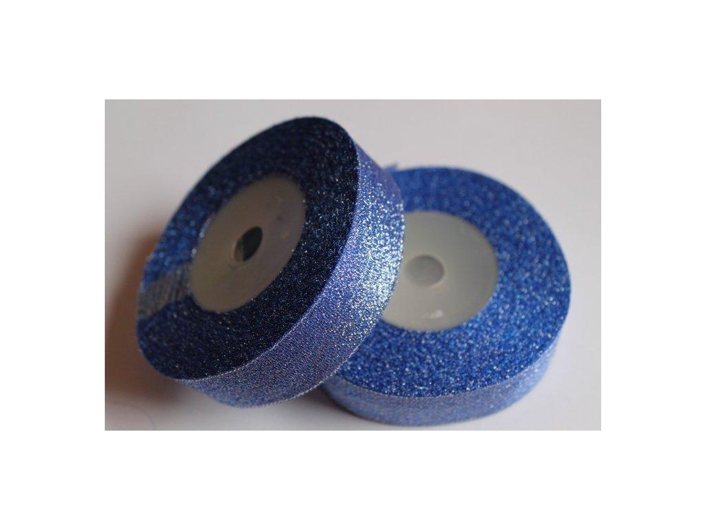 Brokátová stuha 25mm kráľovská modrá