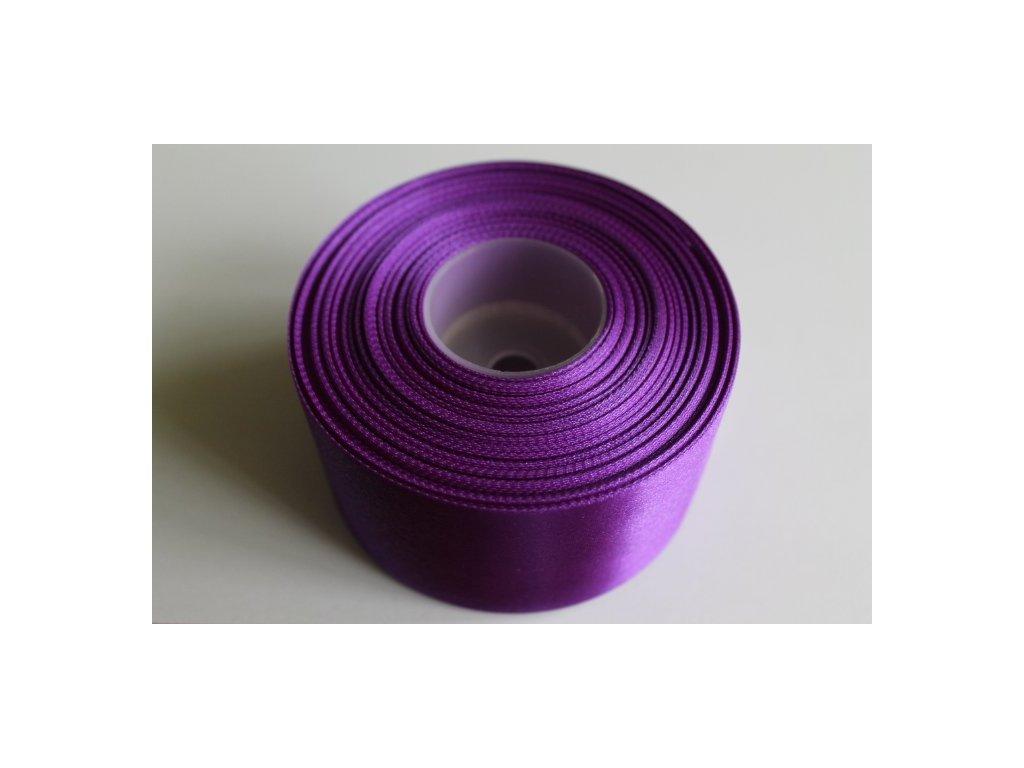 Saténová stuha 50mm A044 fialová