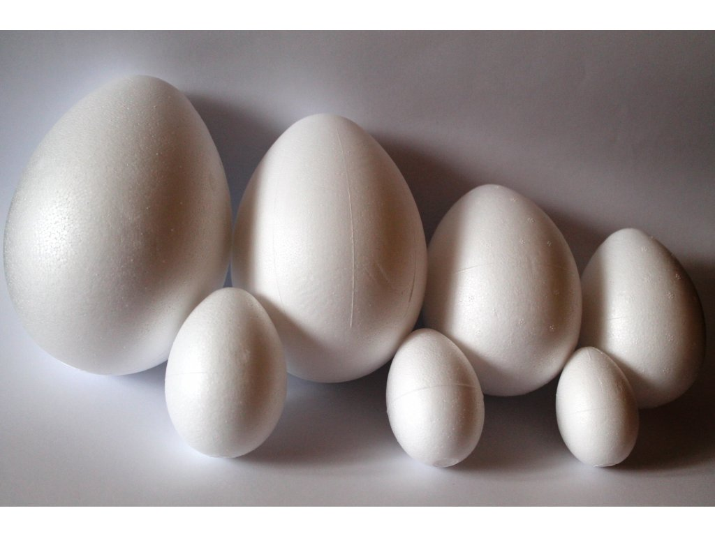 Polystyrénové vajíčko dvojdielne 14cm