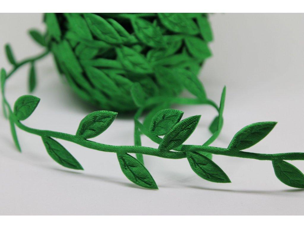 Lístky zelené