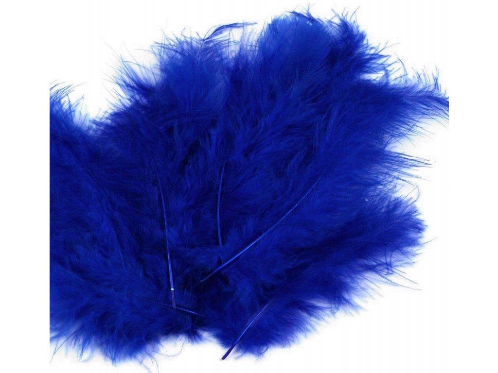 Dekoračné perie 15g granátové 092