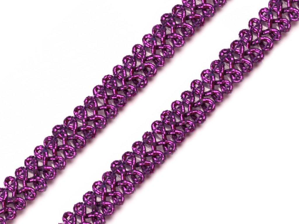 Leonský prámik 9mm purpurový