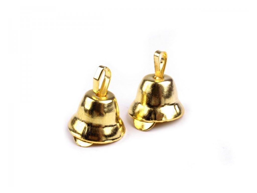 Zvonček zlatý 7x11mm