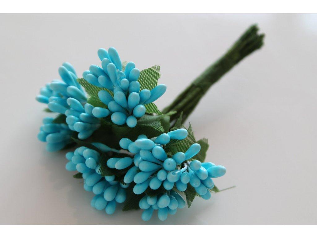 Tyčinky do kvetín so zelenými lístkami 091