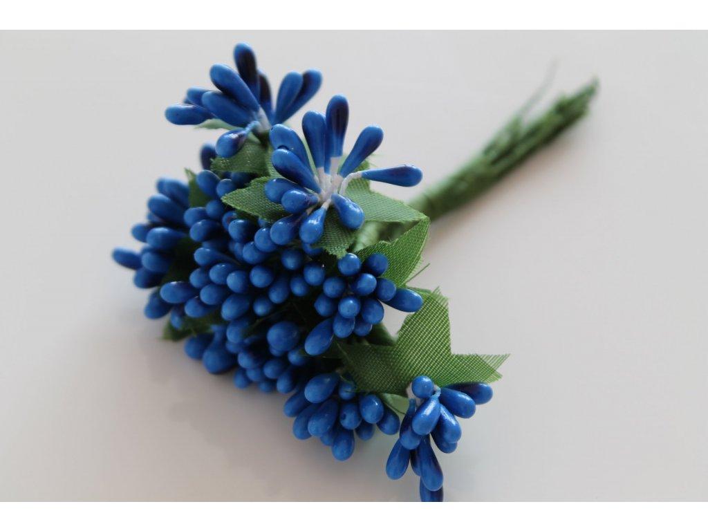 Tyčinky do kvetín so zelenými lístkami 093