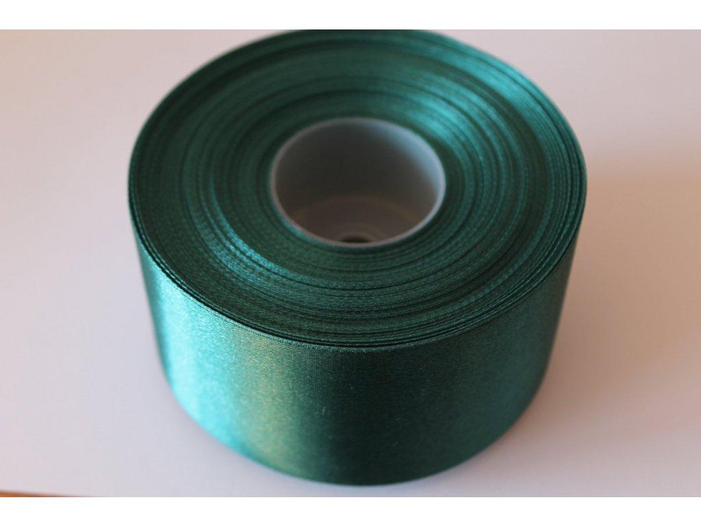 Saténová stuha 50mm A043 borovicová zelená