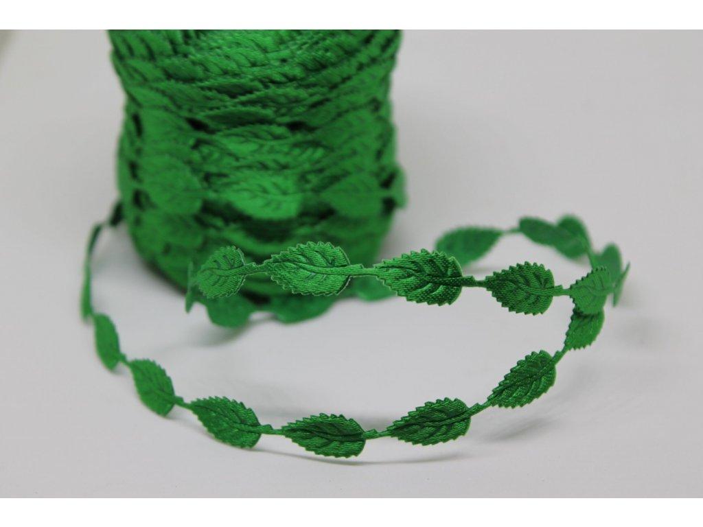 Lístočky malé tmavé zelené