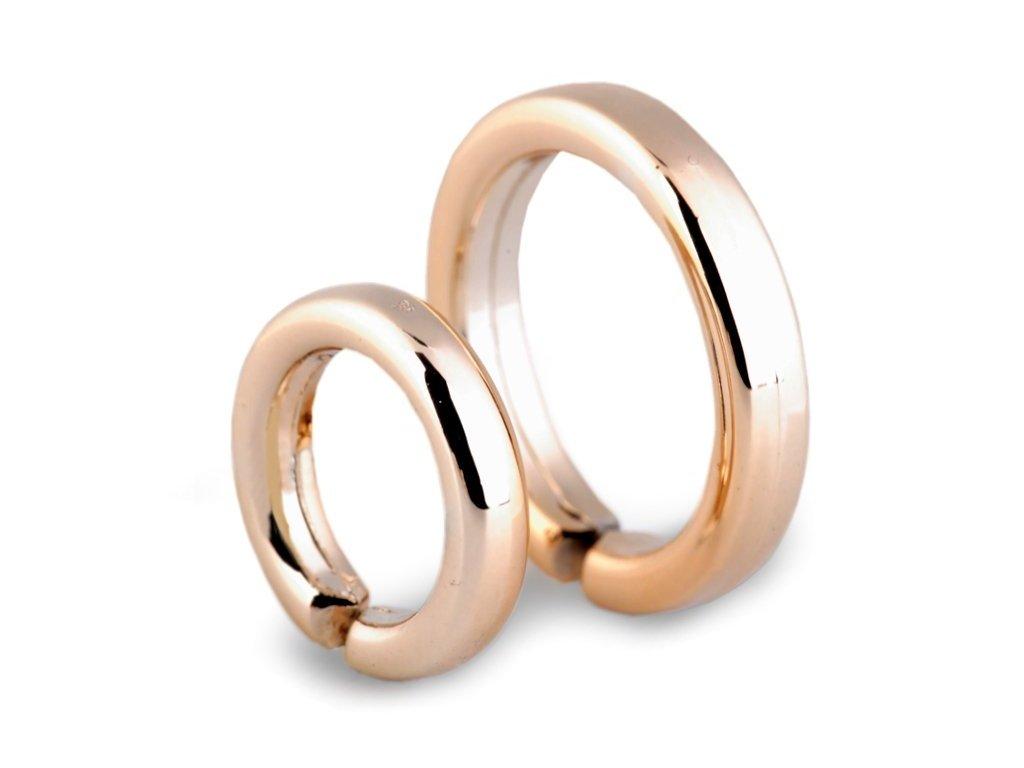Dekorácia prstene zlaté