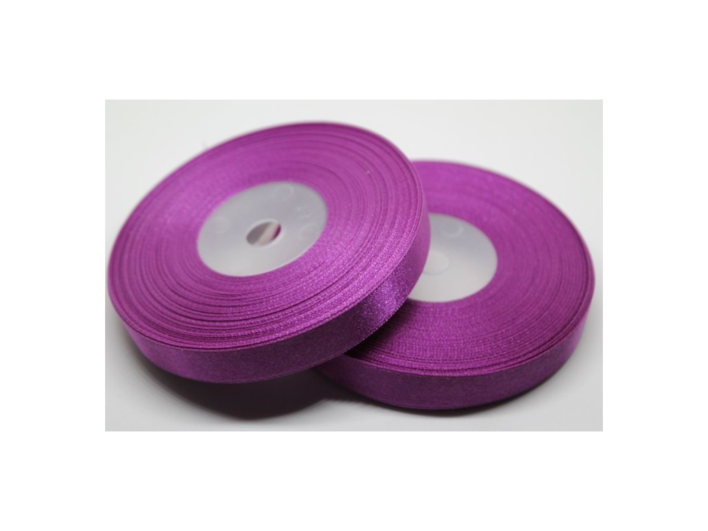 Saténová stuha 12mm A018 purpurová svetlá