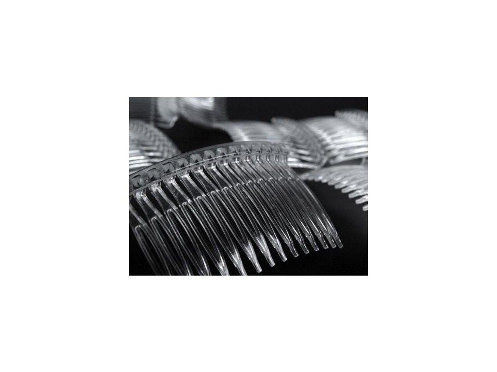 Hrebeň do vlasov plastový 45x70mm