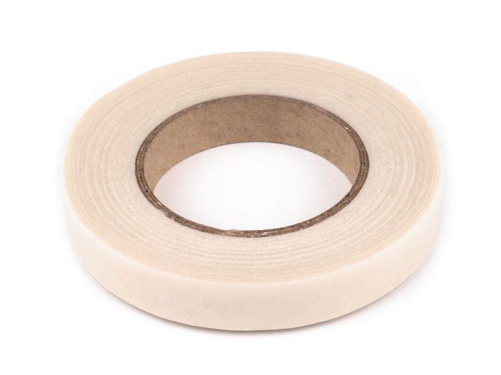 Floristická páska 12mm/27m biela