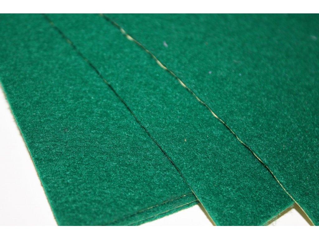 Filc samolepiaci zelený