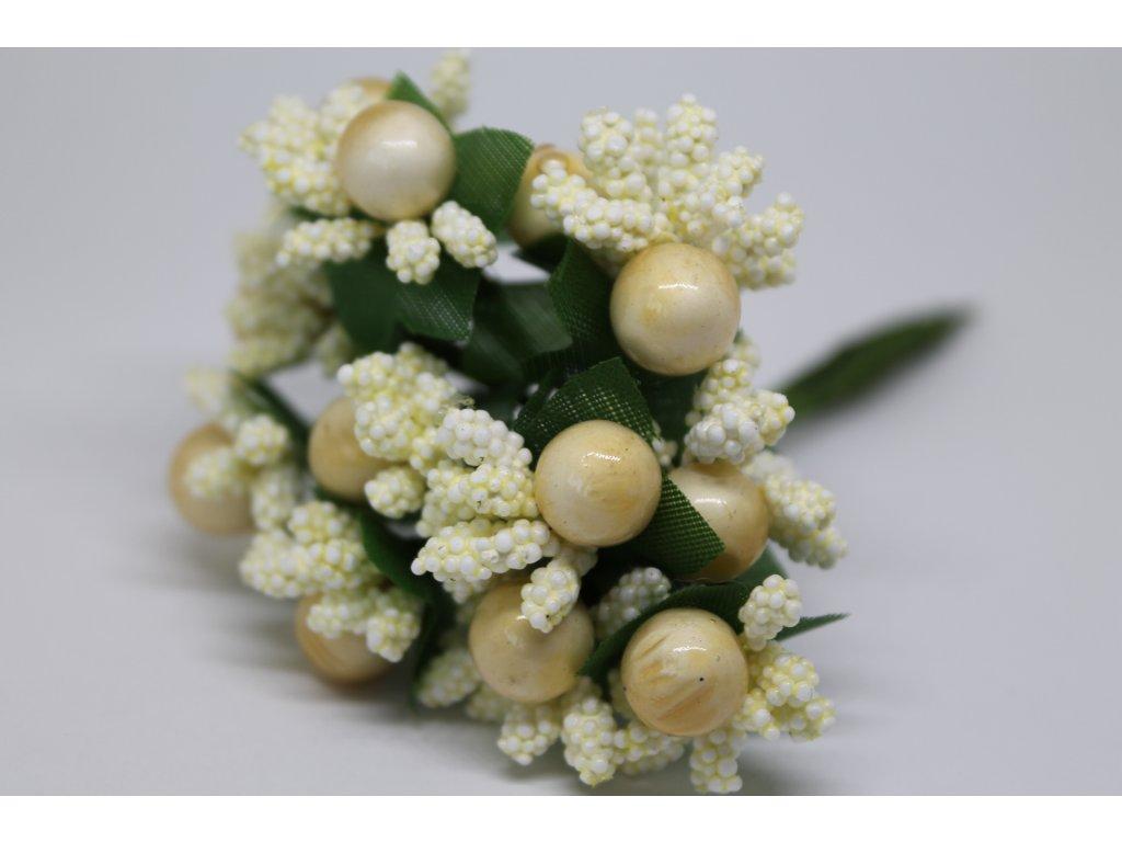 Tyčinky do kvetín ryžové s guličkami 010