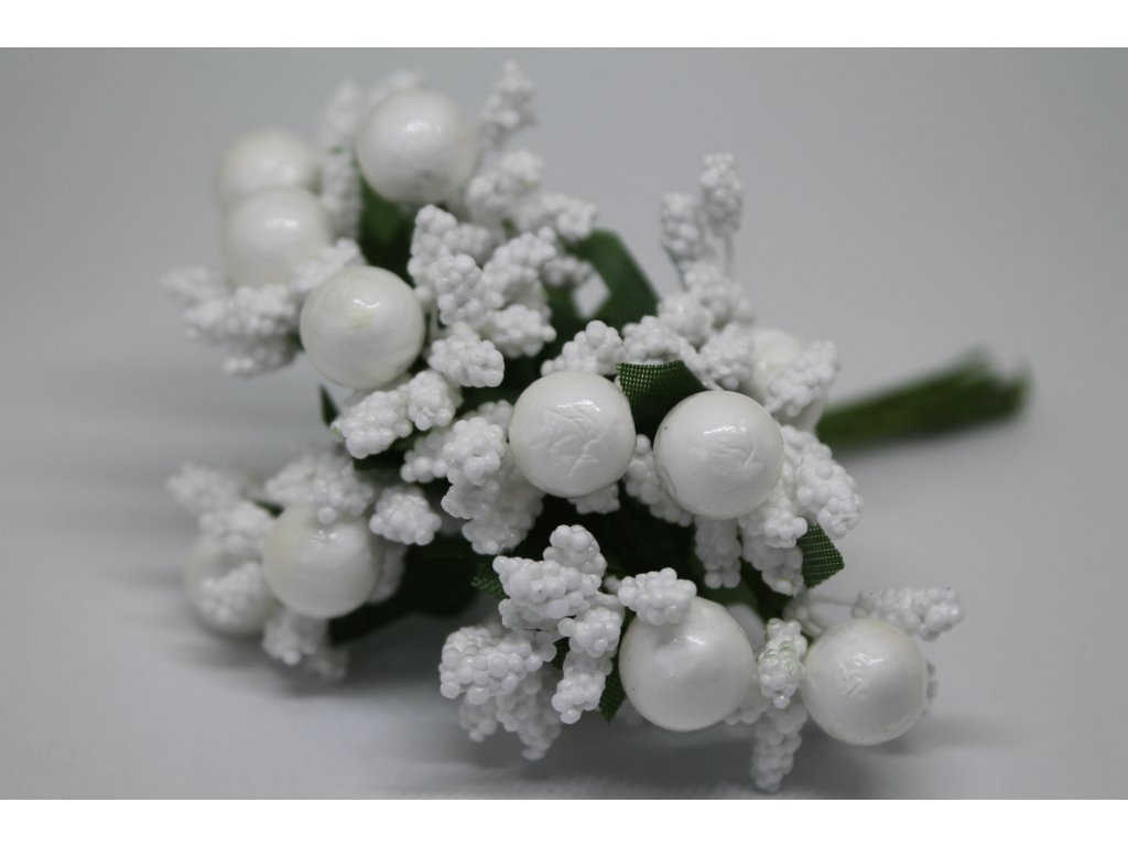 Tyčinky do kvetín ryžové s guličkami 001