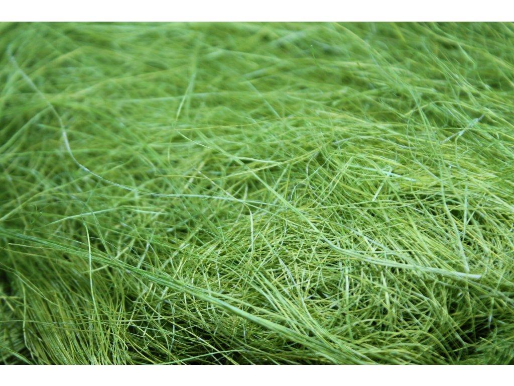 Sisal zelený 50g