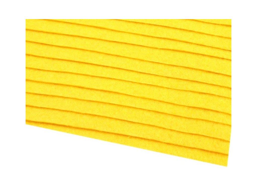 Filc tuhý 1,5 mm 020 žltý