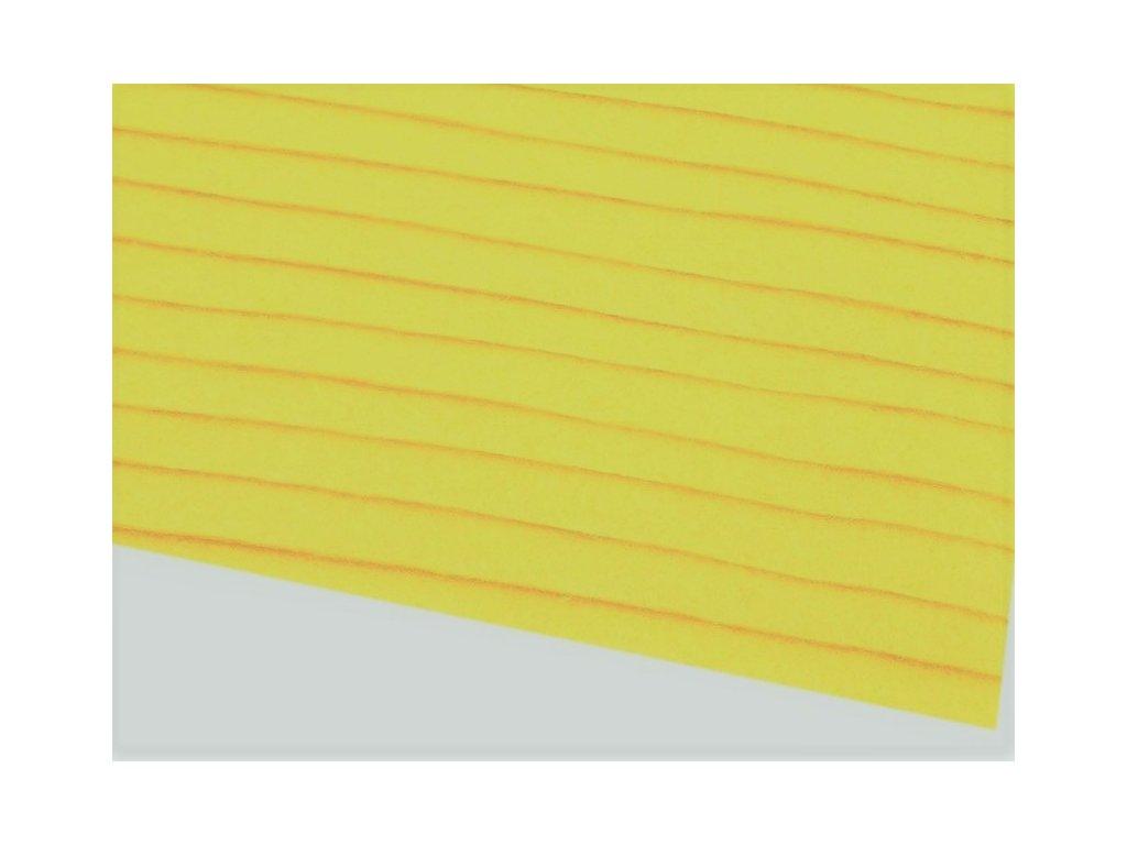 Filc tuhý 1,5 mm 021 citrónový