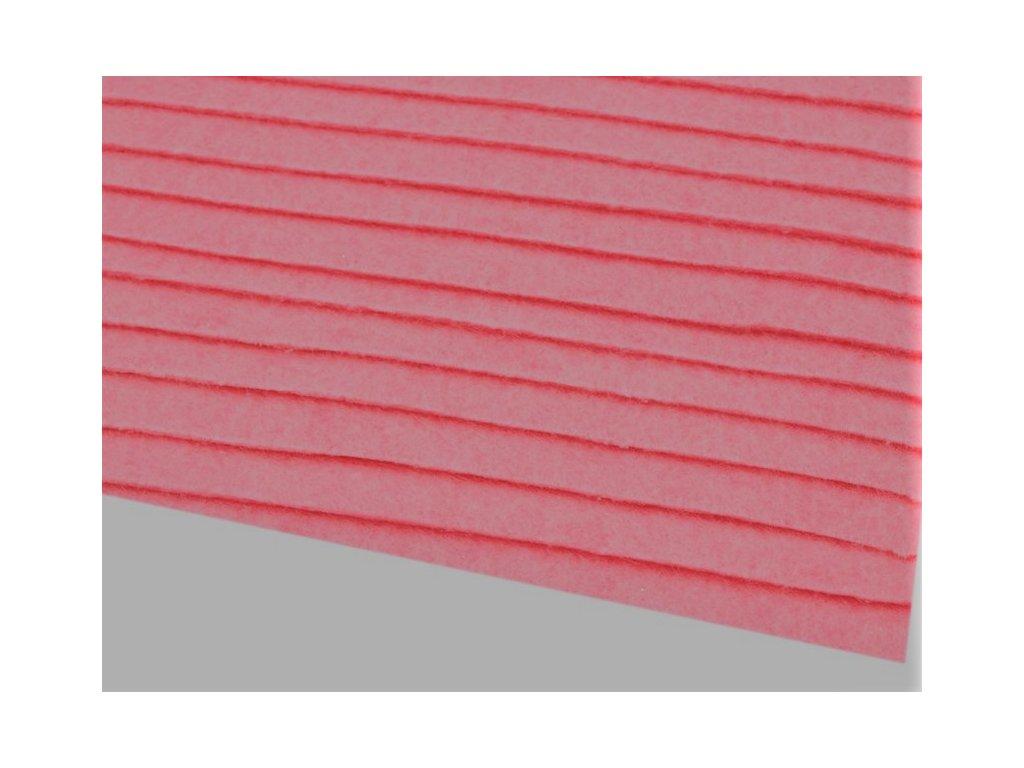 Filc tuhý 1,5 mm 040 ružový