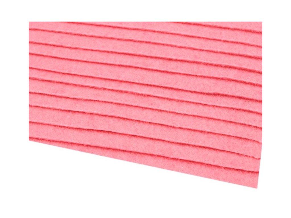 Filc tuhý 1,5 mm 042 tmavý ružový
