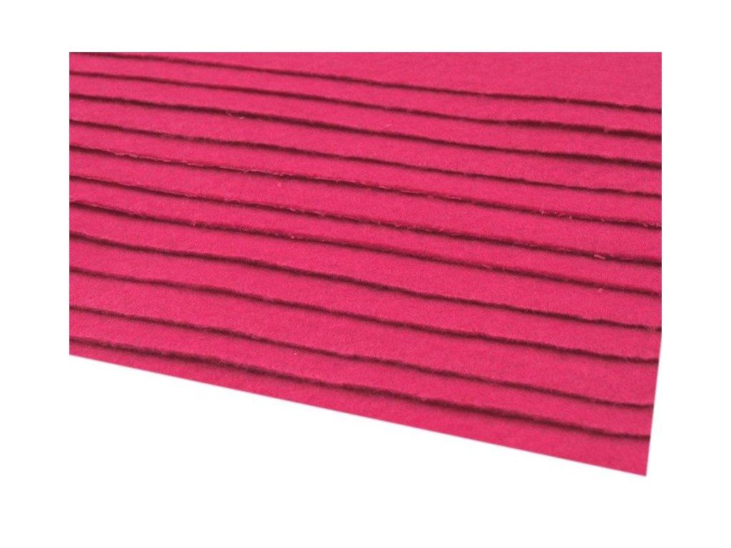 Filc tuhý 1,5 mm 043 cyklaménový