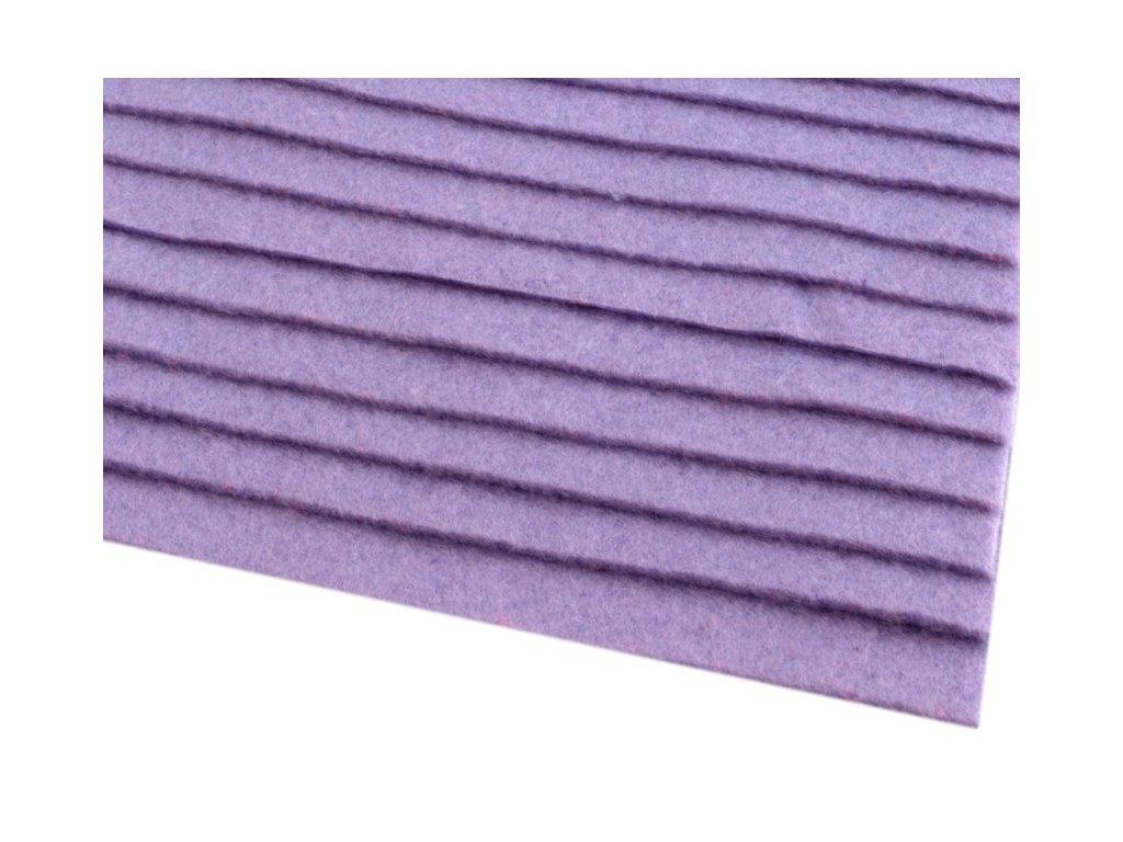 Filc tuhý 1,5 mm 075 svetlý fialový