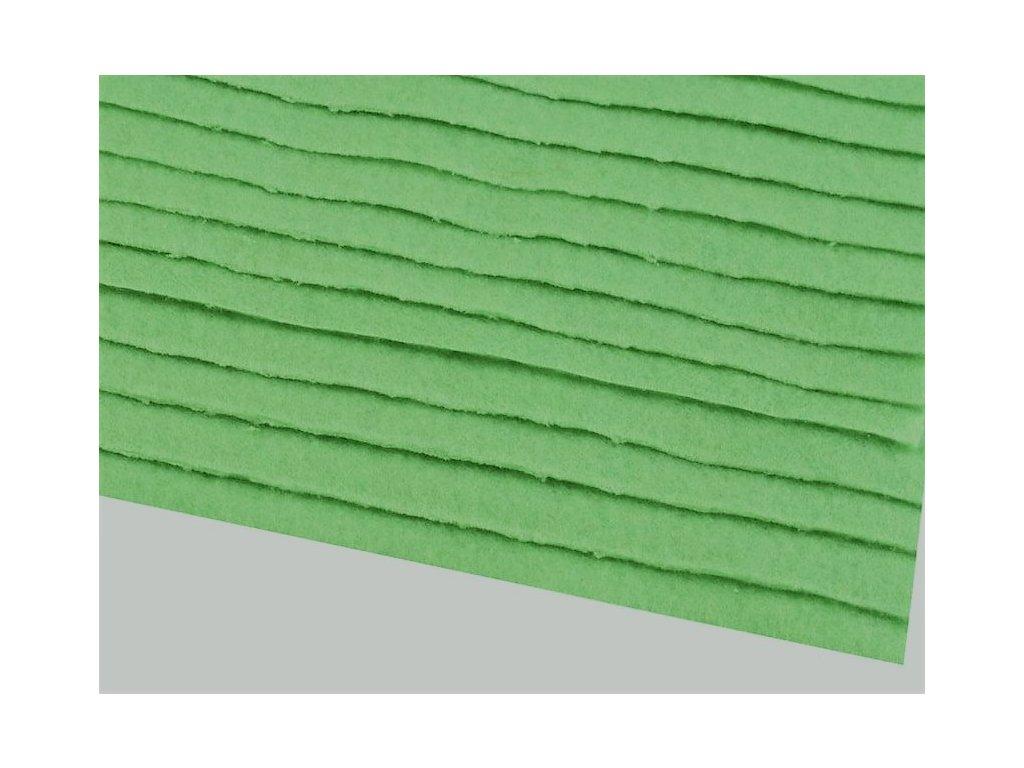 Filc tuhý 1,5 mm 083 žiarivý zelený