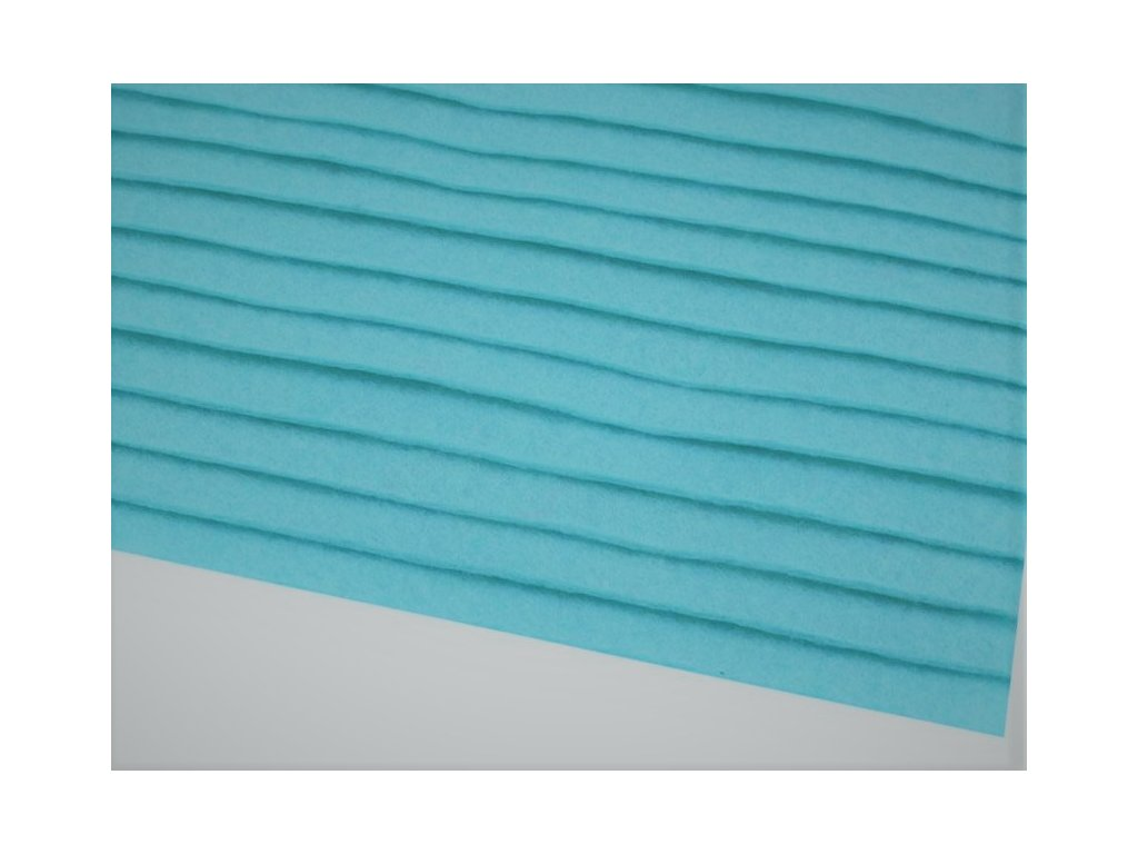 Filc tuhý 1,5 mm 091/2 nebesky modrý