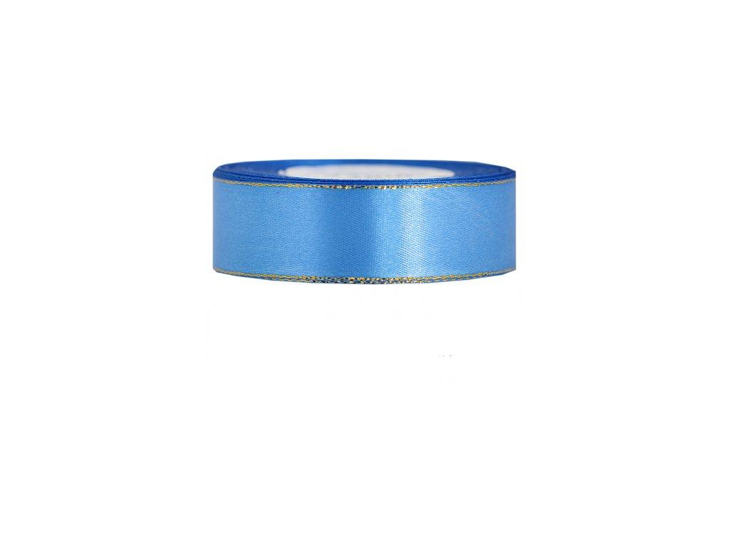 wstazka satynowa zp 25mm 27mb niebieska
