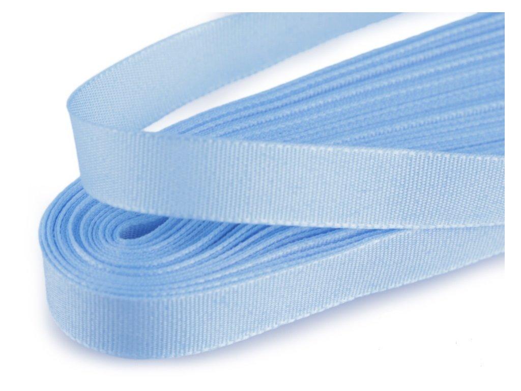 Taftová stuha 25mm/10m svetlá modrá 405