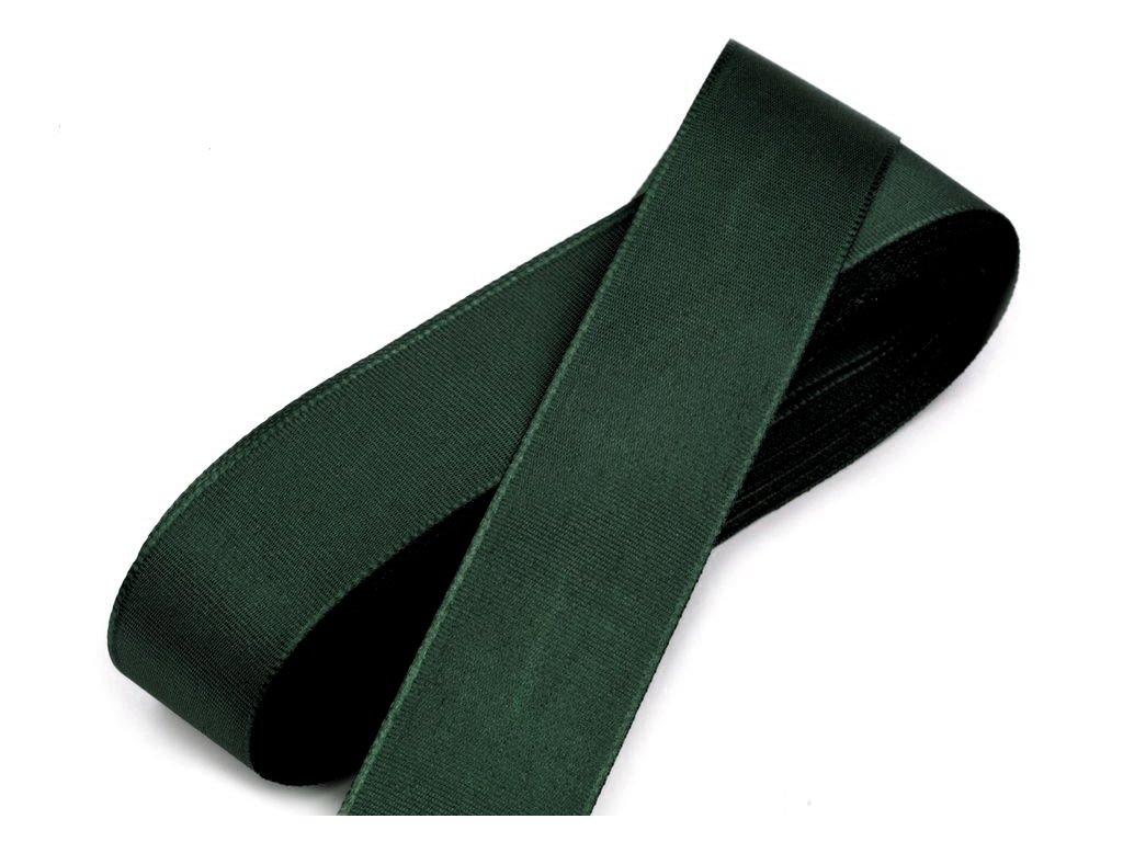 Taftová stuha 25mm/10m olivová zelená 322