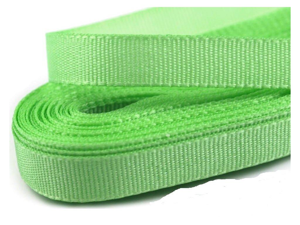 Taftová stuha 25mm/10m nilská zelená 306