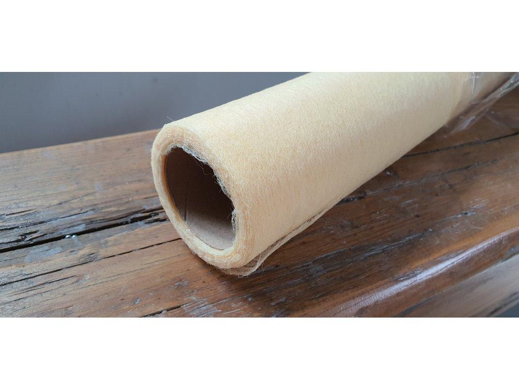 Dekoračný vlizelín 50cm/9y maslový 012