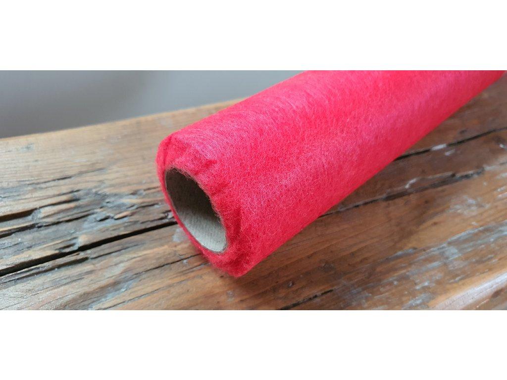 Dekoračný vlizelín 50cm/9y červený 050