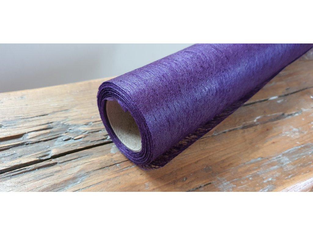Dekoračný vlizelín 50cm/9y fialový 070
