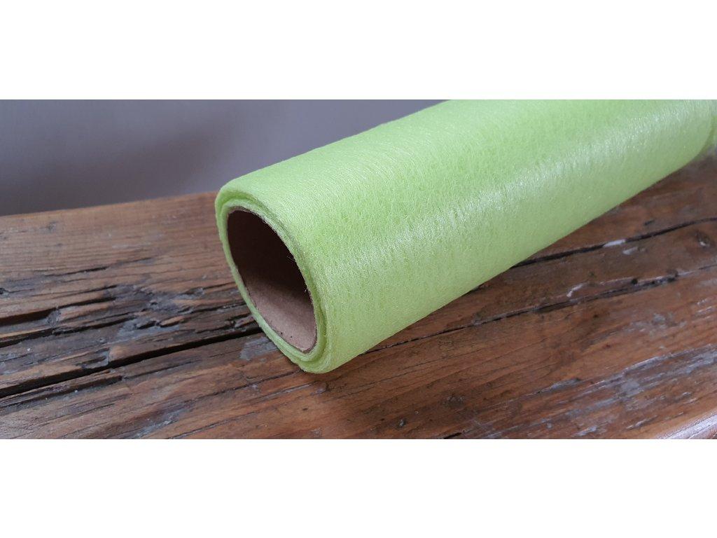 Dekoračný vlizelín 50cm/9y jasný zelený 083